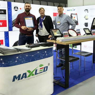 MAX-LED na targach Electrotech Light Minsk 2019